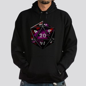 D20 color Hoodie (dark)