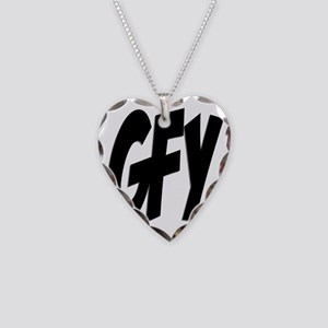 GFY 2 Necklace Heart Charm