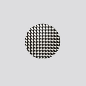Houndstooth Mini Button