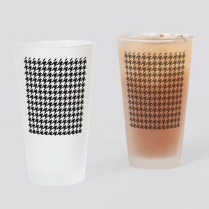 Houndstooth Drinking Glass