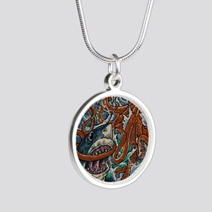 Epic Silver Round Necklace
