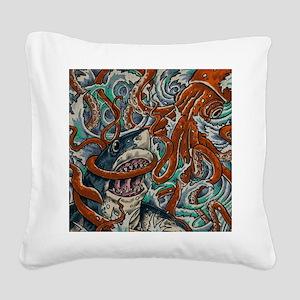 Epic Square Canvas Pillow