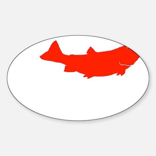 I fish Montana Sticker (Oval)