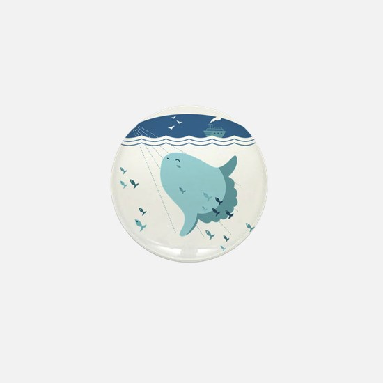 Mola Mola Mini Button