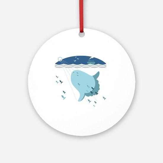 Mola Mola Round Ornament