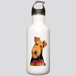 Airedale Speak! Stainless Water Bottle 1.0L