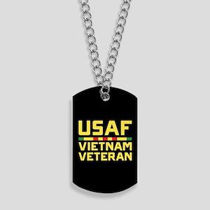 USAF Vietnam Veteran Dog Tags