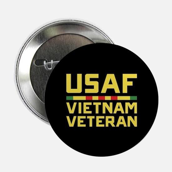"""USAF Vietnam Veteran 2.25"""" Button"""