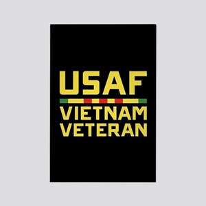 USAF Vietnam Veteran Rectangle Magnet
