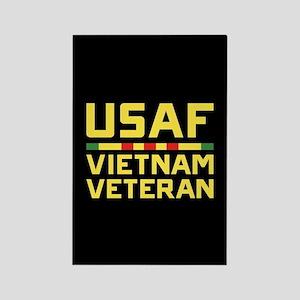 USAF Vietnam Veteran Rectangle Magnet