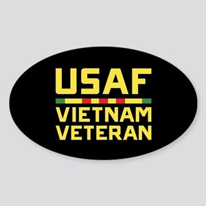 USAF Vietnam Veteran Sticker (Oval)