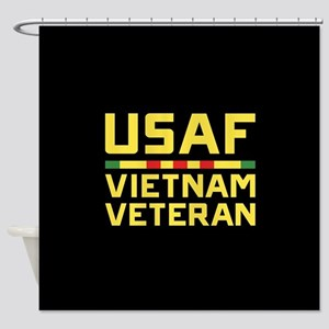 USAF Vietnam Veteran Shower Curtain