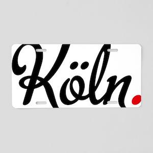 Köln Aluminum License Plate