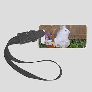 bunny basket Small Luggage Tag