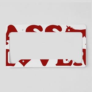 assLoverDonkey1C License Plate Holder