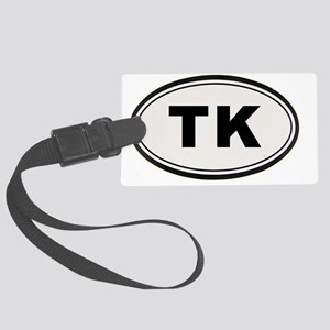 TK Sticker Large Luggage Tag