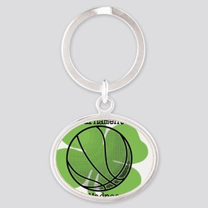 It's Tournament Time! Let The Madnes Oval Keychain