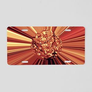 Golden Comet Cat Forsley De Aluminum License Plate