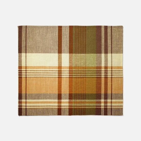 Mens_plaid_2 Throw Blanket