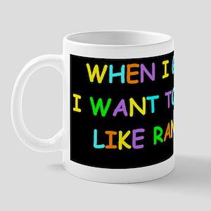rand paul when i grow up dark bump Mug