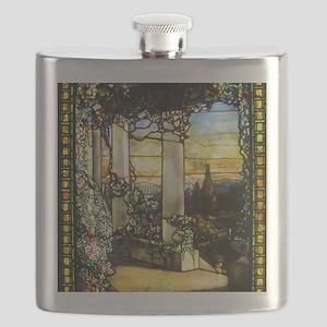 Greek Temple Garden Flask