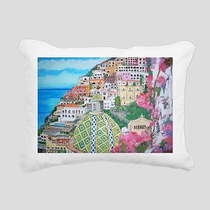 Positano Rectangular Canvas Pillow