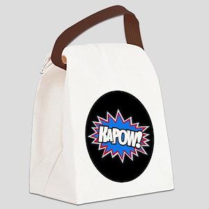 Hero KaPow Bursts Canvas Lunch Bag
