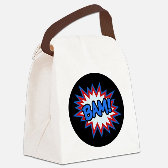 Hero Bam Bursts Canvas Lunch Bag