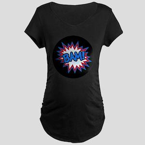 Hero Bam Bursts Maternity Dark T-Shirt