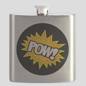 Hero Pow Bursts Flask