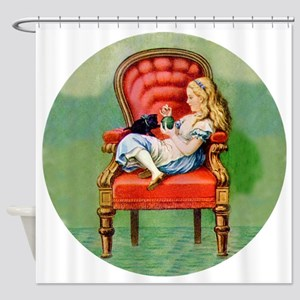 ALICE  DINAH RD Shower Curtain