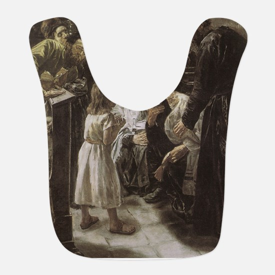 Jesus in the Temple as a Child Bib
