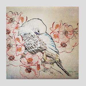 Mousepad Parakeet 004 Tile Coaster