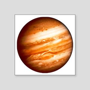 "Planet Jupiter Square Sticker 3"" x 3"""