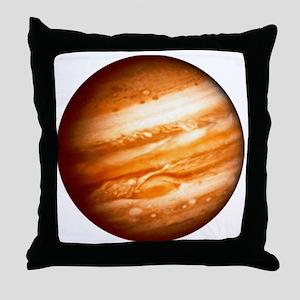 Planet Jupiter Throw Pillow