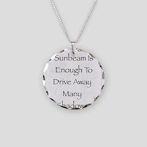 Saint Pope Francis Simple Pr Necklace Circle Charm