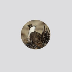 Sage Grouse Strut Mini Button