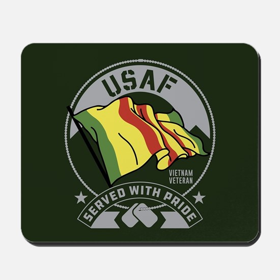 USAF Served With Pride Mousepad