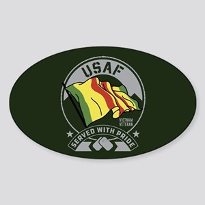 USAF Served With Pride Sticker (Oval)