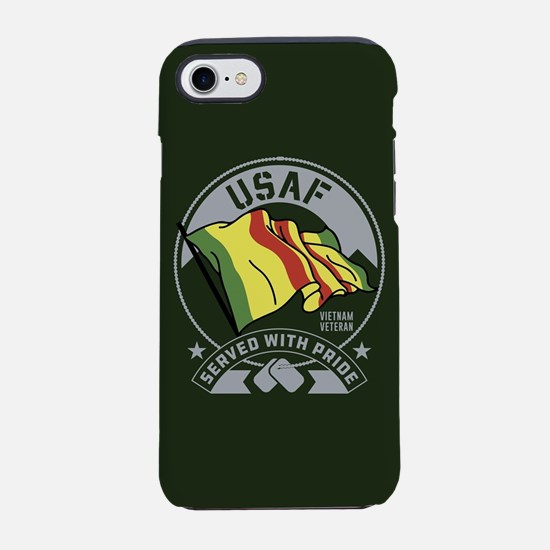 USAF Served With Pride iPhone 7 Tough Case