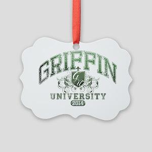 Griffin last Name University Clas Picture Ornament