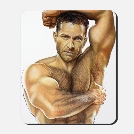 Adam Champ Full T-Shirt Mousepad