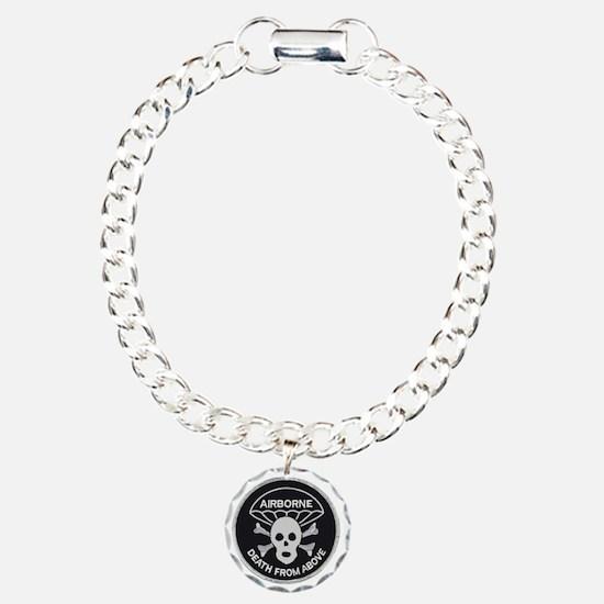 Airborne patch Charm Bracelet, One Charm