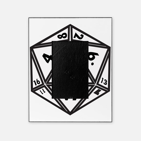 D20 White Picture Frame