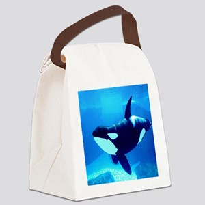 Killer Whale Canvas Lunch Bag