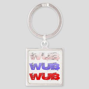 Wub Square Keychain
