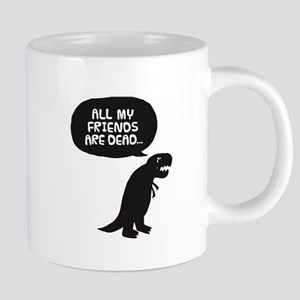 Sad Dinosaur Mugs