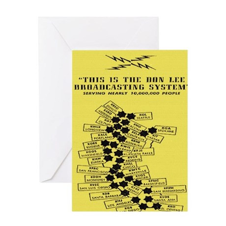don lee stations Greeting Card