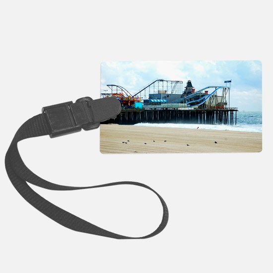 Jersey Shore Seaside Heights Boa Luggage Tag