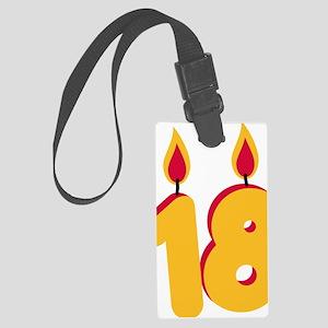 18 Large Luggage Tag